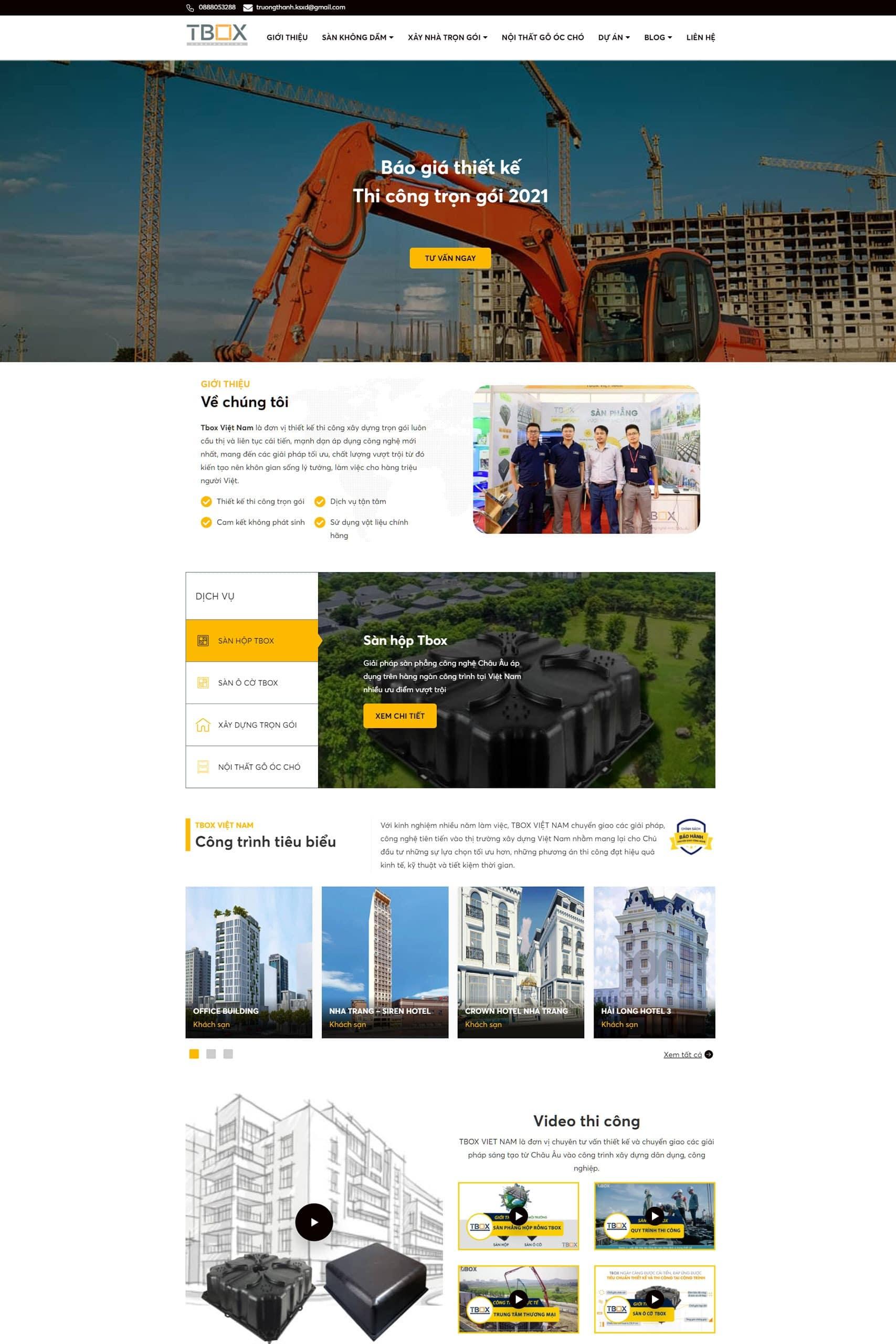 Website Tbox Việt Nam